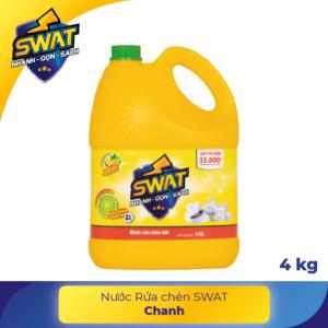 Nước rửa chén swat 4kg